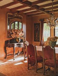 Tuscan Style Dining Room Tuscan Farmhouse