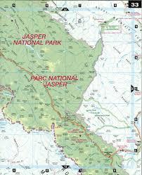Us National Parks Map Jasper National Park