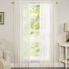 3 Inch Rod Pocket Sheer Curtains 120