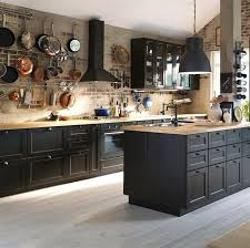 Black Kitchen Cabinets Ikea Black Kitchen Cabinets Rapflava