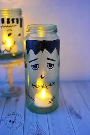 halloween luminaries diy halloween luminaries frankenstein mason jar tutorial momdot