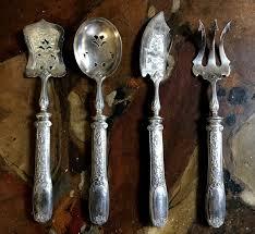 Couvert En Argent Ancien Argent Massif Antiquites En France