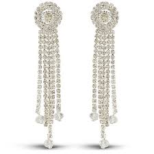 artificial earrings white artificial earrings for women at lowest price shop