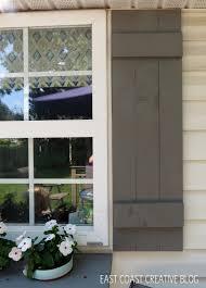 diy shutters and window box east coast creative blog
