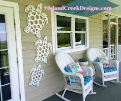 sea turtles wall decor for your porch made by island creek