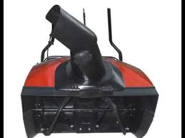 snow blowers black friday power smart db5011 13 amp electric snow thrower youtube
