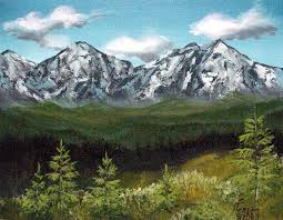 Oregon mountains images Oregon mountains mixed media by kenny henson jpg