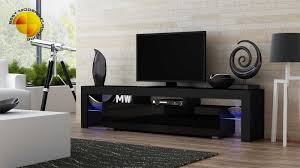 20 ways to black contemporary tv stand