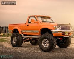 toyota pickup wheel offset 1989 toyota pickup super aggressive 3 5 suspension lift 4