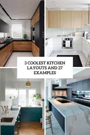 kitchen designs archives digsdigs 3 coolest kitchen layouts with 27 examples