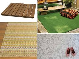Wood Patio Flooring by 4 Ideas For Sprucing Up That Patio Floor Apartment Therapy