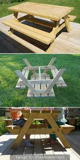 diy kid sized picnic table dan330 diy pinterest picnic