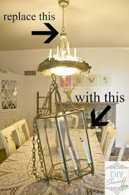 Diy Dining Room Chandelier Diy Chandelier Archives Diy Show Diy Decorating And Home