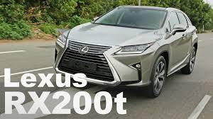 lexus rx 200t test vì sao mới ra mắt lexus rx 200t 2017 đã bán chạy nhất thị trường