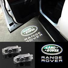 range rover welcome light 2x led car door light courtesy projector ghost laser light for land