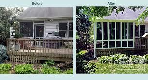Backyard Screen House by Three Season Room Cincinnati Home Additions Patio Enclosures