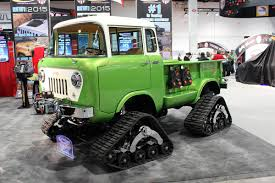 old truck jeep kev u0027s bench stuff spotted at the sema show rc car action
