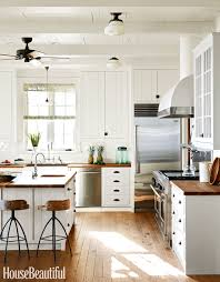 Black Amp White Modern Country by 10 White Kitchen Design Ideas Decorating White Kitchens