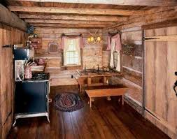 Best Log Homes Images On Pinterest Log Cabins Rustic Cabins - Small cabin interior design ideas