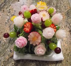 edible flower arrangements vegetable bouquet arrangements
