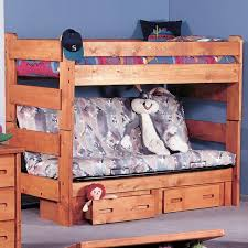 Bunk Bed With Dresser Trendwood Bunkhouse Twin Futon Bunk Bed John V Schultz Furniture