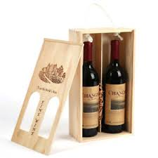 gift packaging for wine bottles portable wine box wood wine storage gift box packaging box