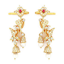 earrings in grt earrings grt jewellers
