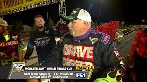 las vegas monster truck show monster jam world finals freestyle part 2 in las vegas on fs1