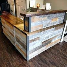 Rustic Reception Desk Angelicajang Page 228 Converting Desk To Standing Desk Rustic