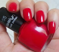 beauty freak box misslyn nail polish u2013 165 red nails