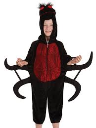 childs spider costume boys girls animal fancy dress halloween book