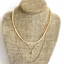 layer necklace images Colorado handmade united states la montagne jewel designs jpg