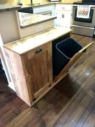 kitchen trash can ideas interesting small kitchen trash can ideas best inspiration home