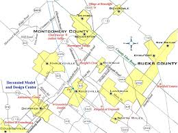 bucks county map homes construction in montgomery county pa homes