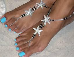 barefoot sandals for wedding happi starfish crystals barefoot sandals wedding