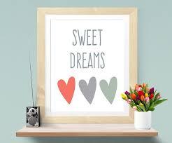 affiche chambre bebe dreams print nursery baby nursery decor nursery print