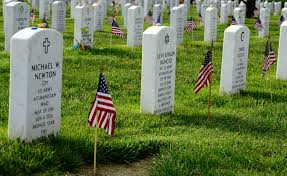 Grave Marker Flags Old Guard Soldiers Plant Flags At Arlington Cemetery Article