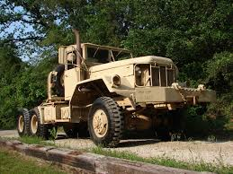 military jeep tan 1970 kaiser jeep m818 6x6 5 ton semi tractor