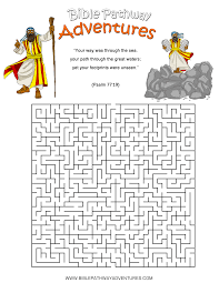 free bible activities for kids maze activities and sunday