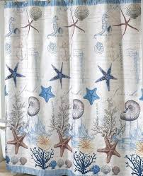 Nautical Shower Curtains Antigua Nautical Shower Curtain Coastal Fabric Shower Curtain On