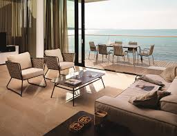 Outdoor Wicker Chair With Ottoman Furniture Fill Your Patio With Outstanding Portofino Patio
