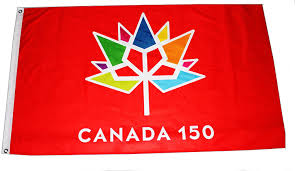 Giant Canadian Flag Official Licensed Canada 150th Anniversary Commemorative Flag 36 U201dx