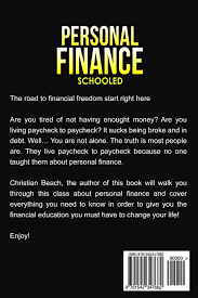 personal finance schooled the mandatory class about money