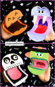 printable halloween puppets puppet free printable and craft
