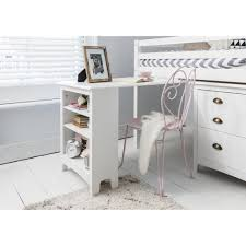 pull out desk with built in bookshelf in white noa u0026 nani