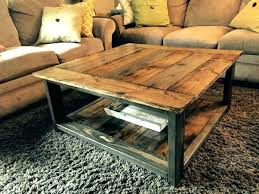 Rustic Metal Coffee Table Rustic Coffee Table Designdrip Co