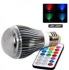 16 colors changing 9w magic e27 rgb led lamp light bulb ir remote