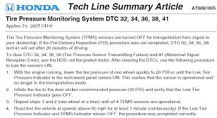 honda crv tire pressure monitoring system honda crv hi question is on a 2008 honda crv the tpms