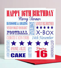 birthday cards for him images card invitation design ideas 16th birthday card for him by