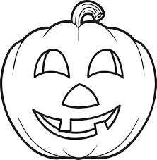 free printable pumpkin coloring page for kids 5
